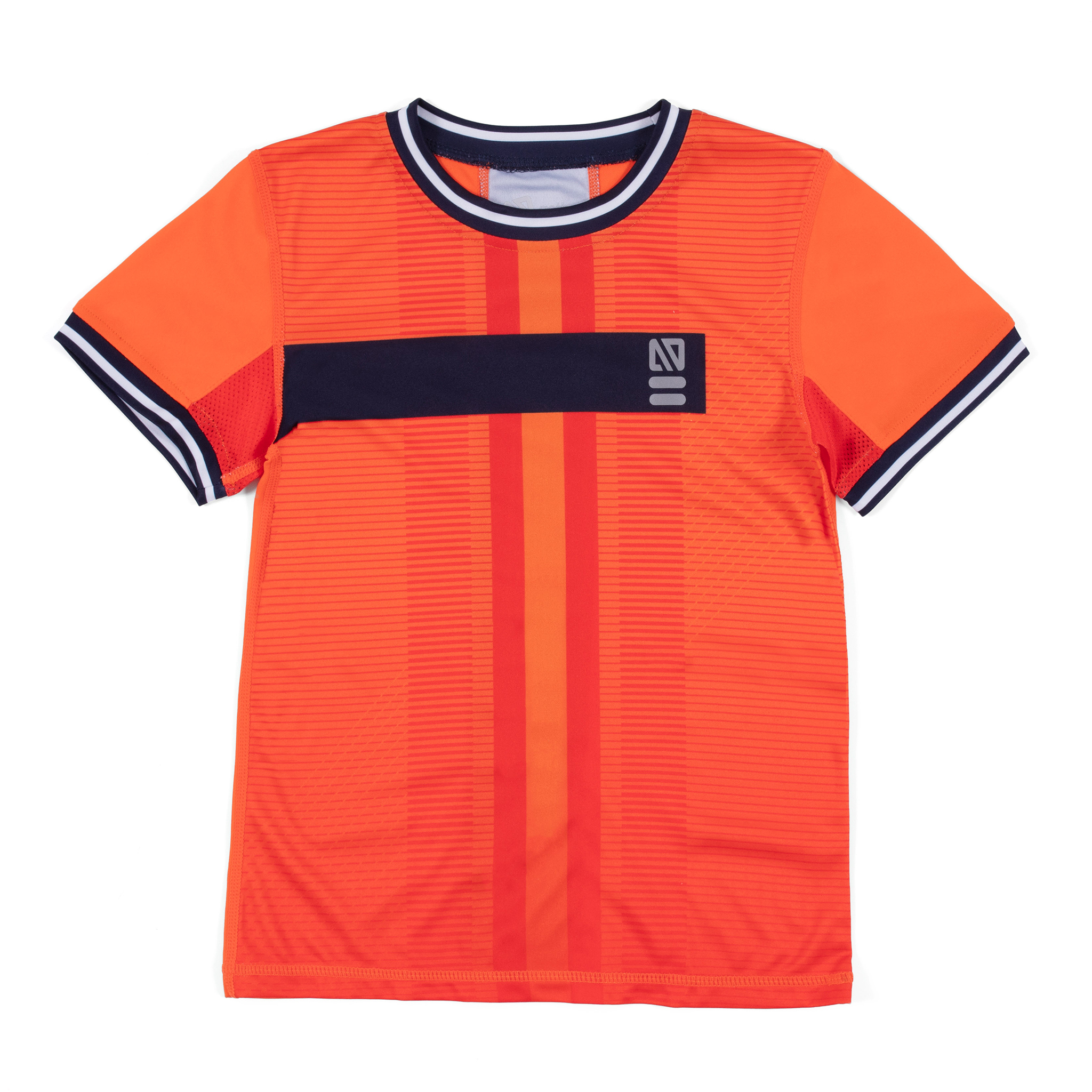 Athletic T-Shirt - Orange - Boys
