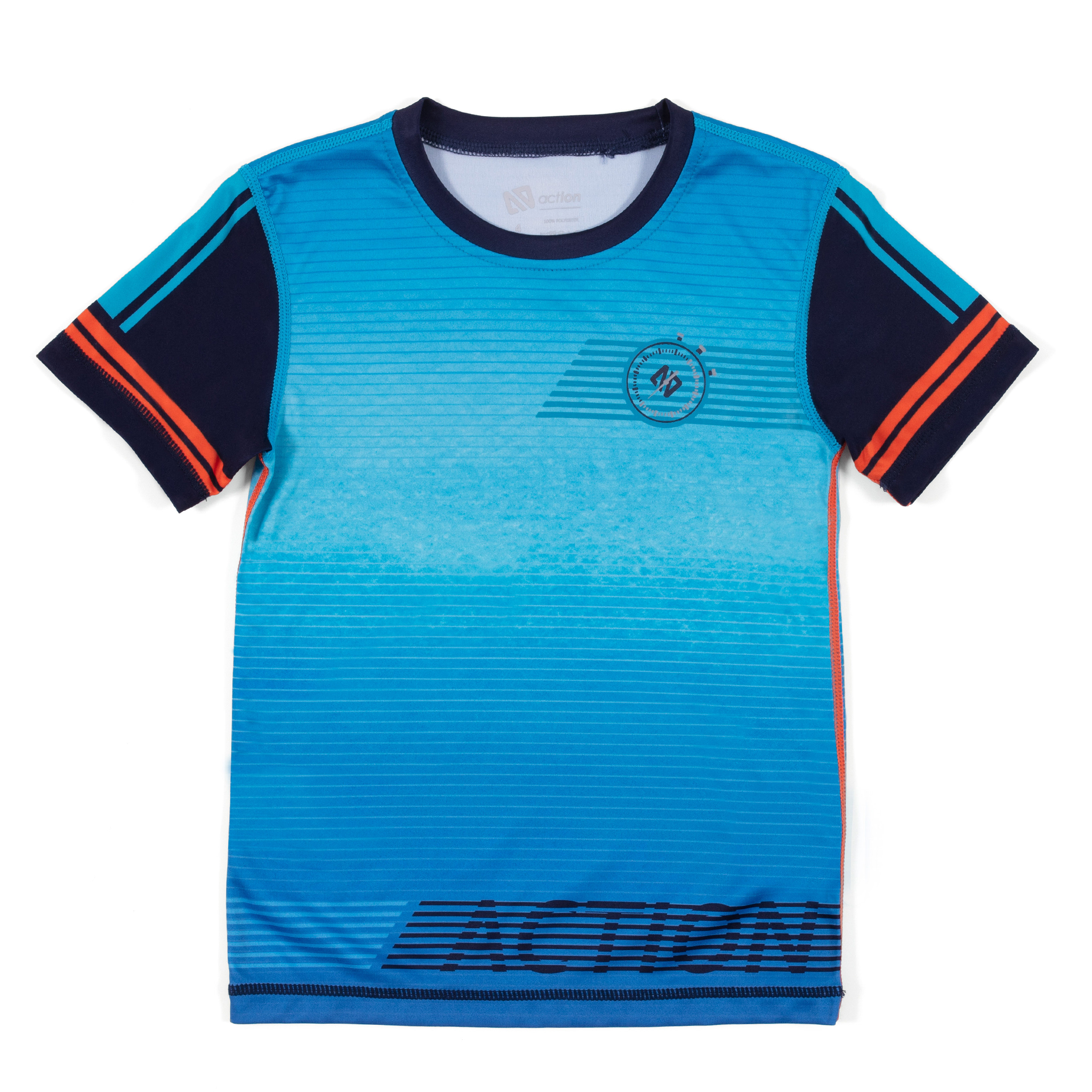 Athletic T-Shirt - Blue - Boys