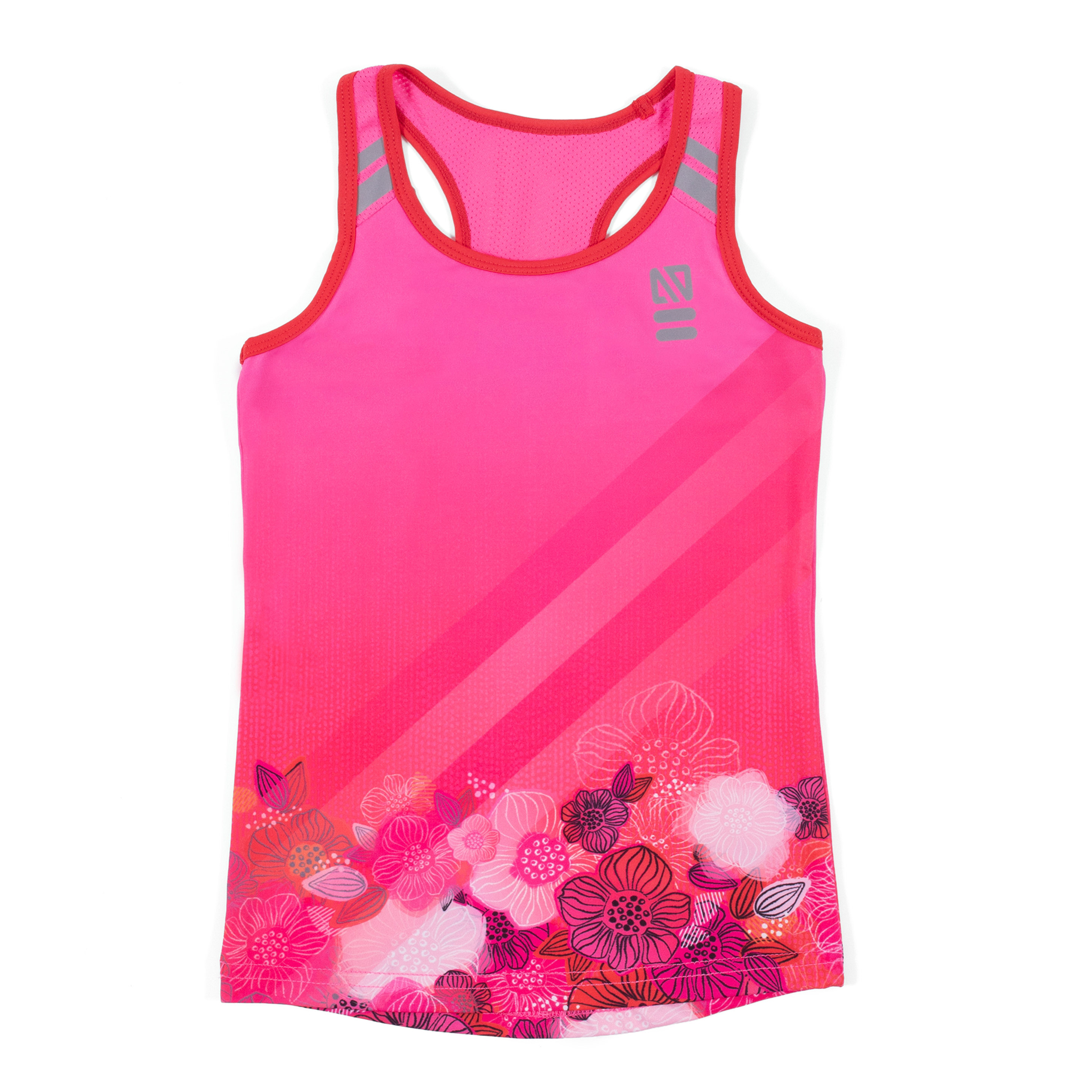 Athletic tank top - Pink - Girls