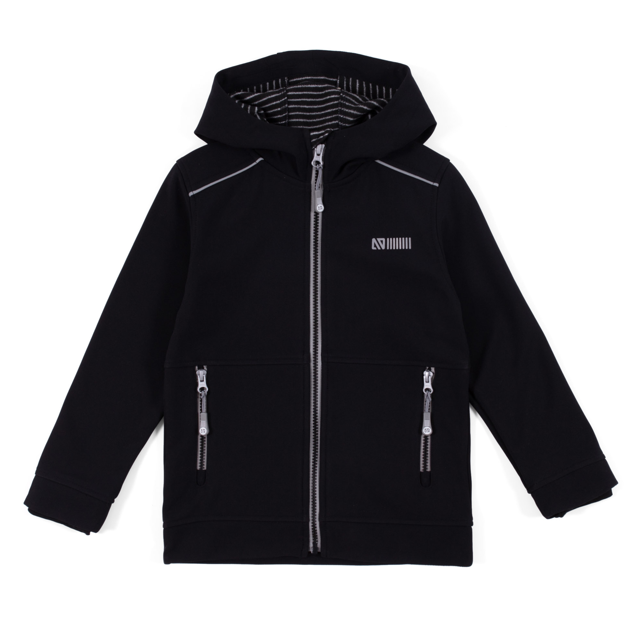 Softshell - Black - Boys