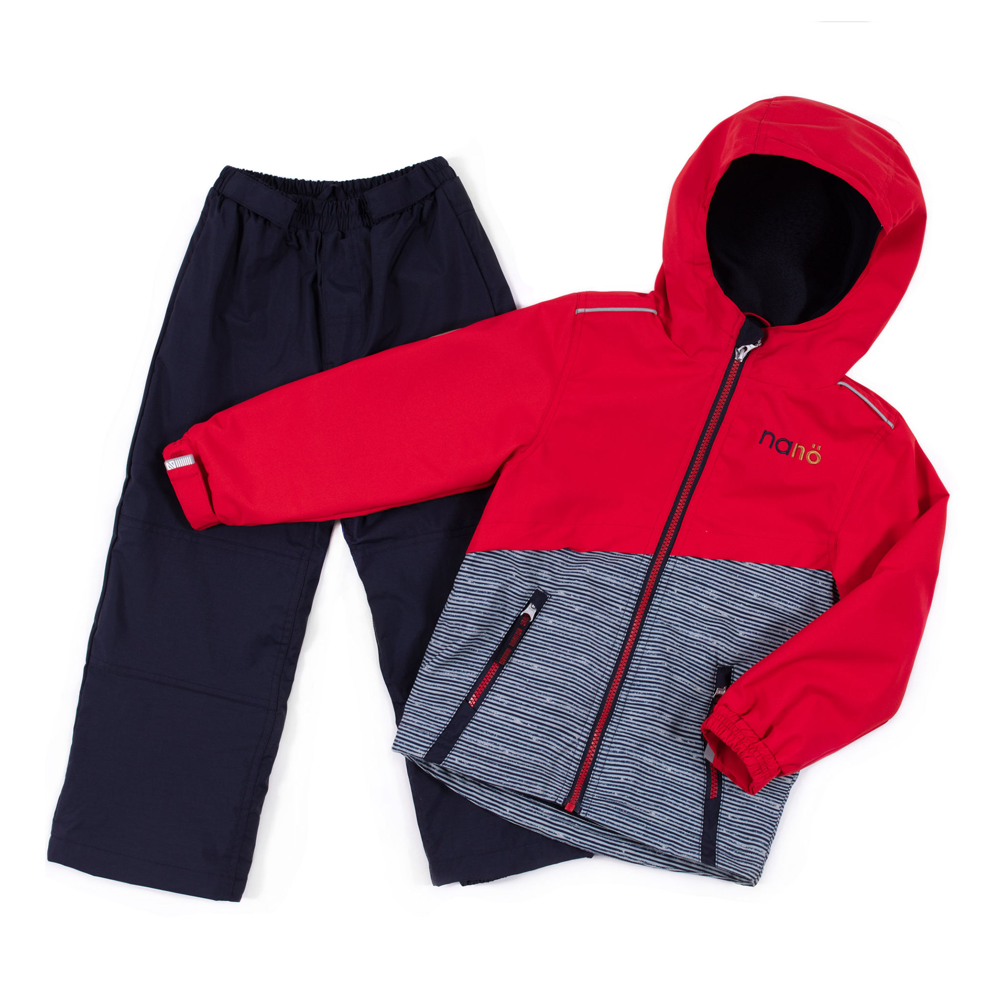 2 pcs outerwear Italie - Red - Boys