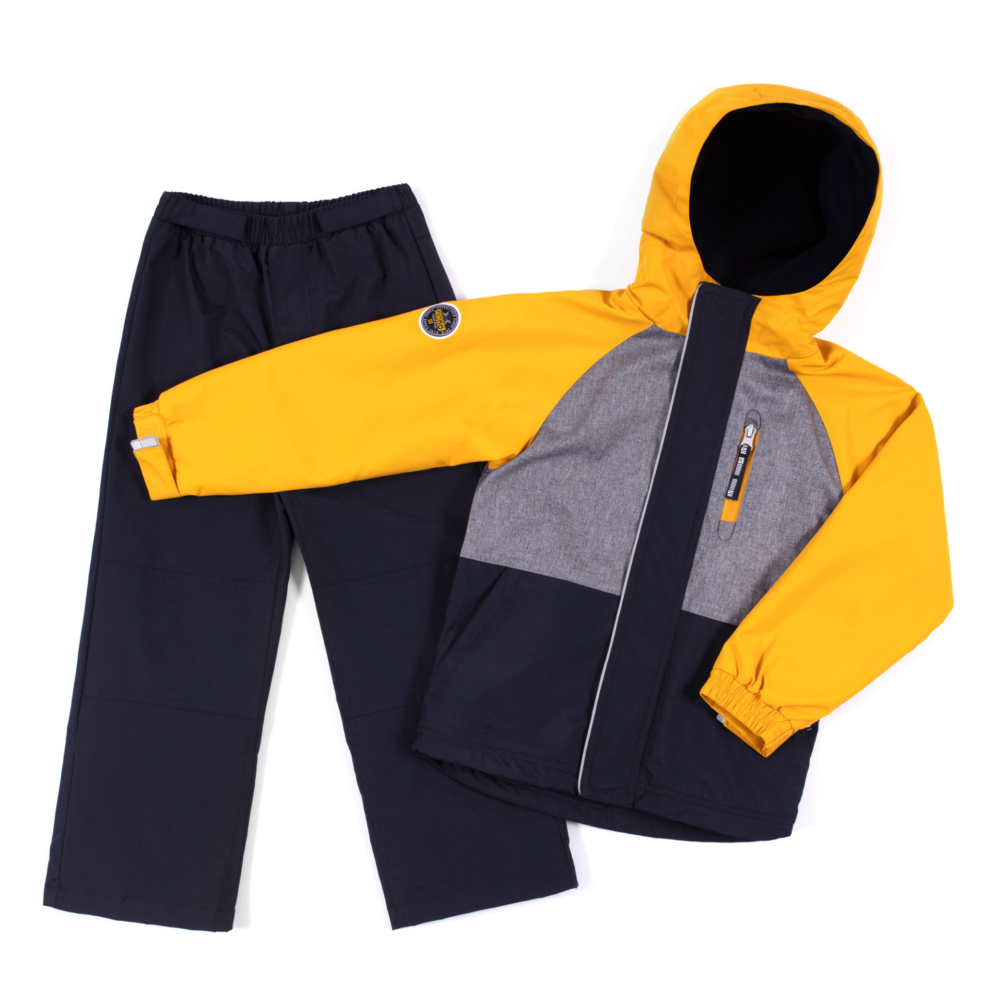 2 pcs outerwear Milan - Yellow - Boys