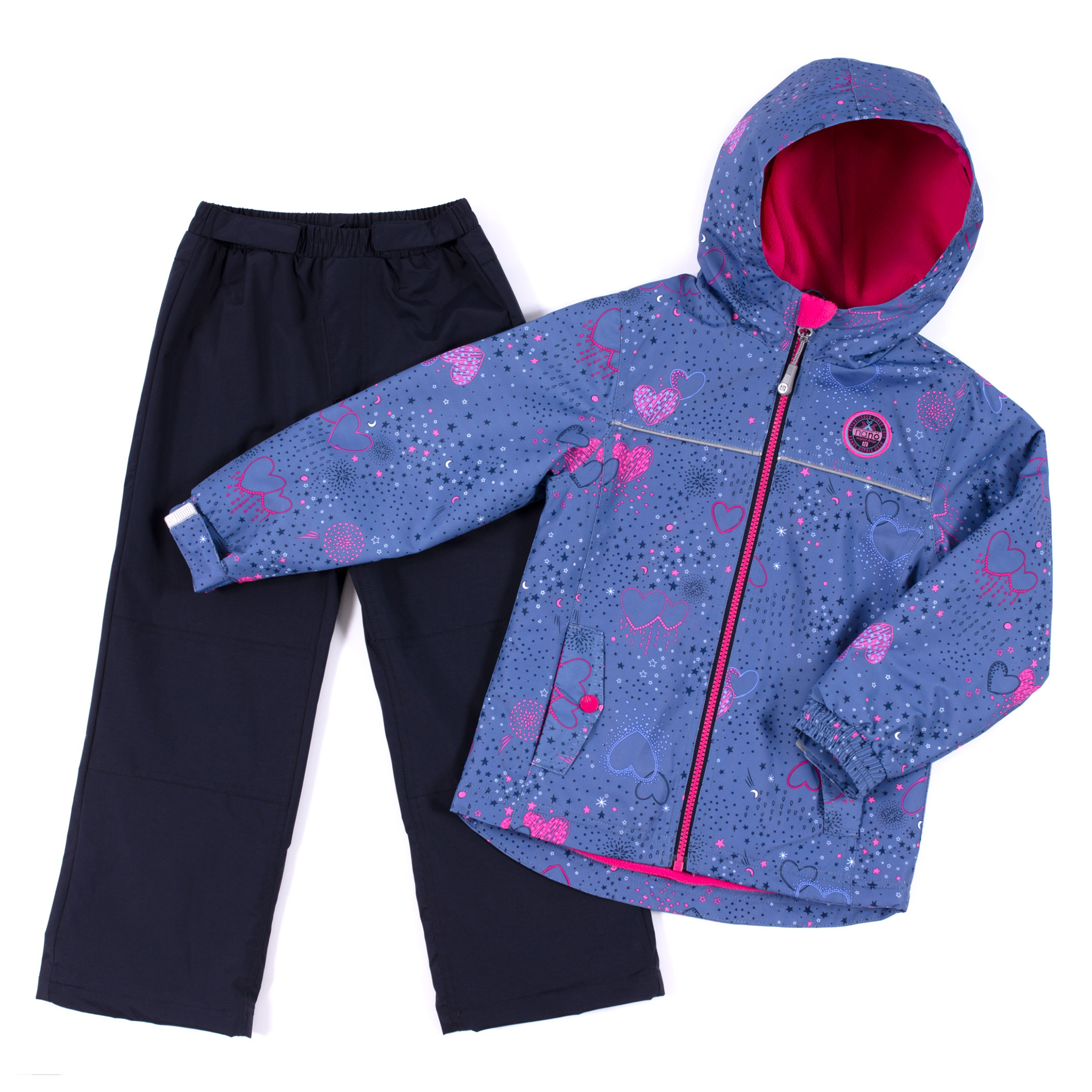 2 pcs outerwear Venise - Blue - Girls