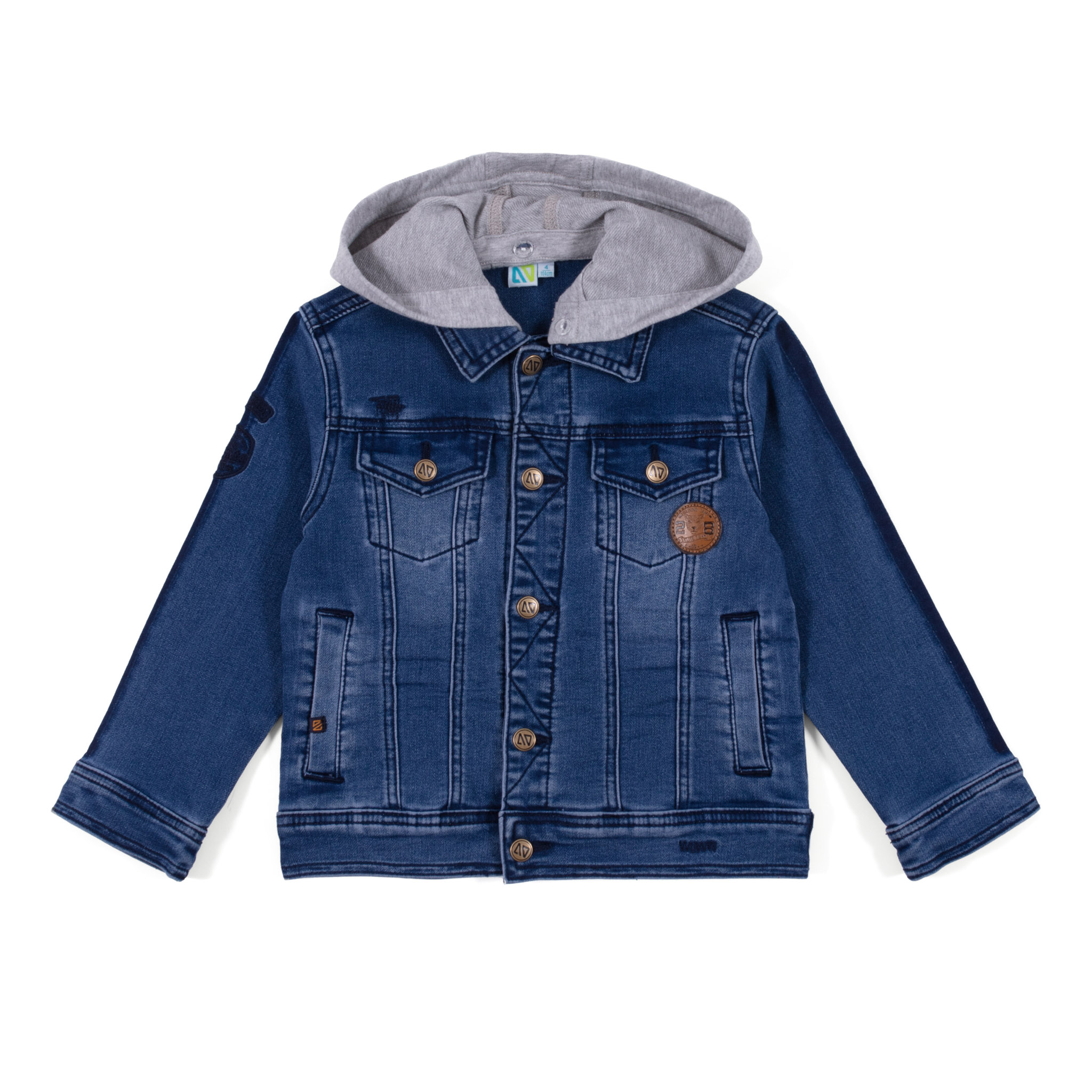 Jeans jacket - Denim Blue - Boys