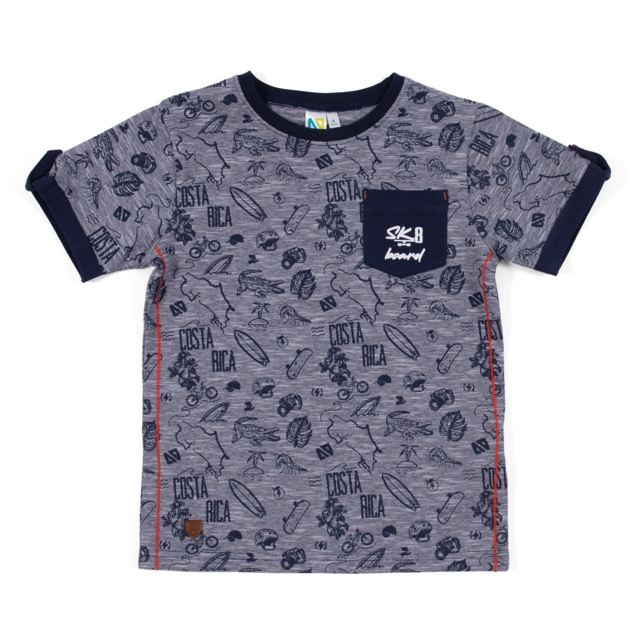 T-Shirt - Navy - Boys