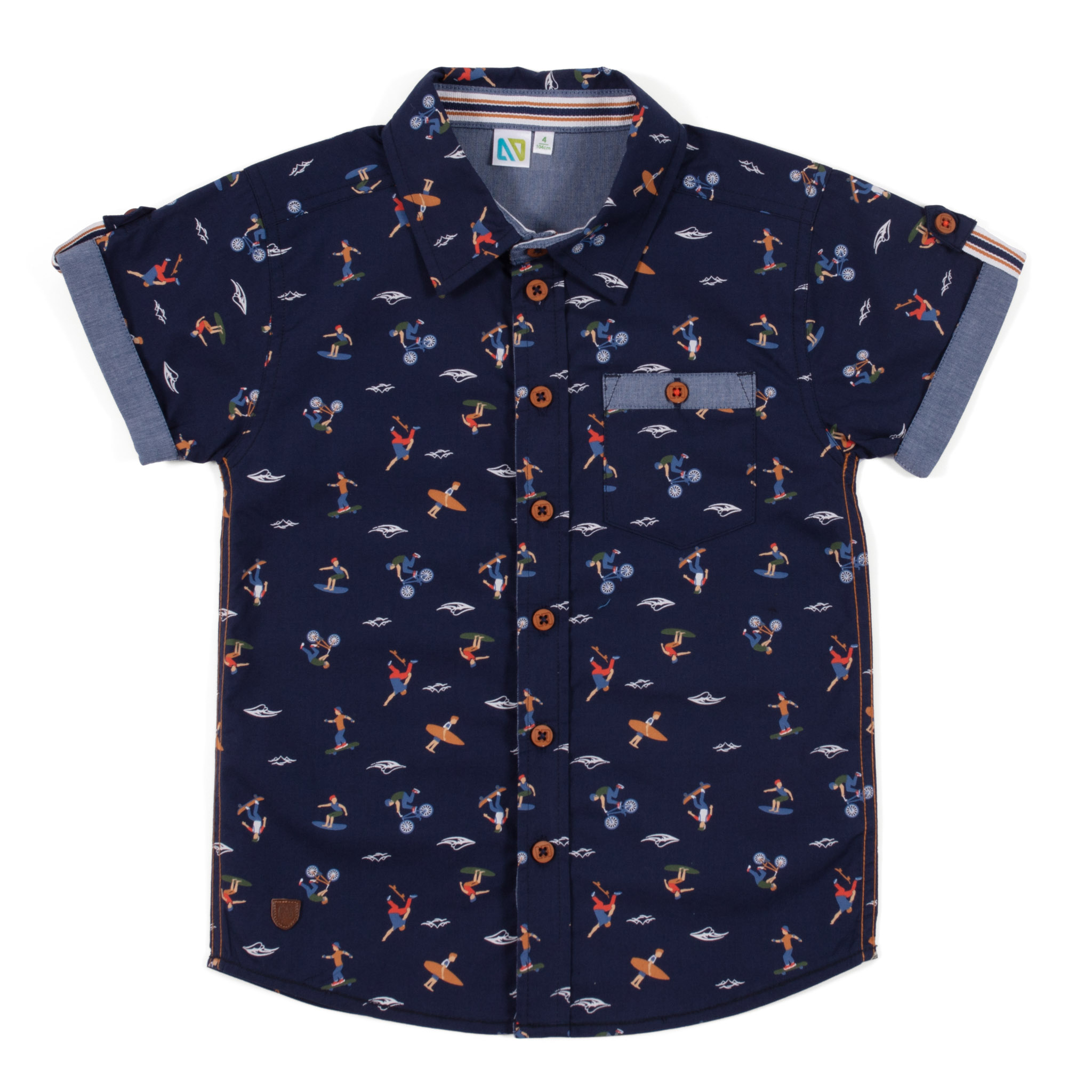 Shirt - Navy - Boys