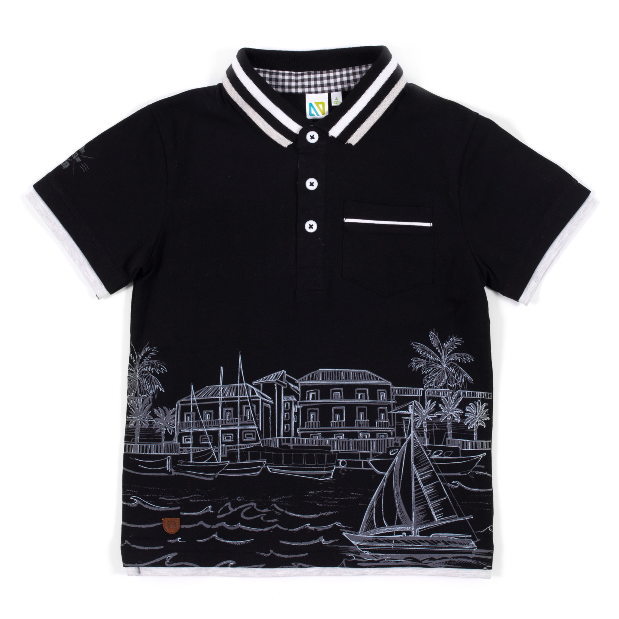 Polo - Black - Boys