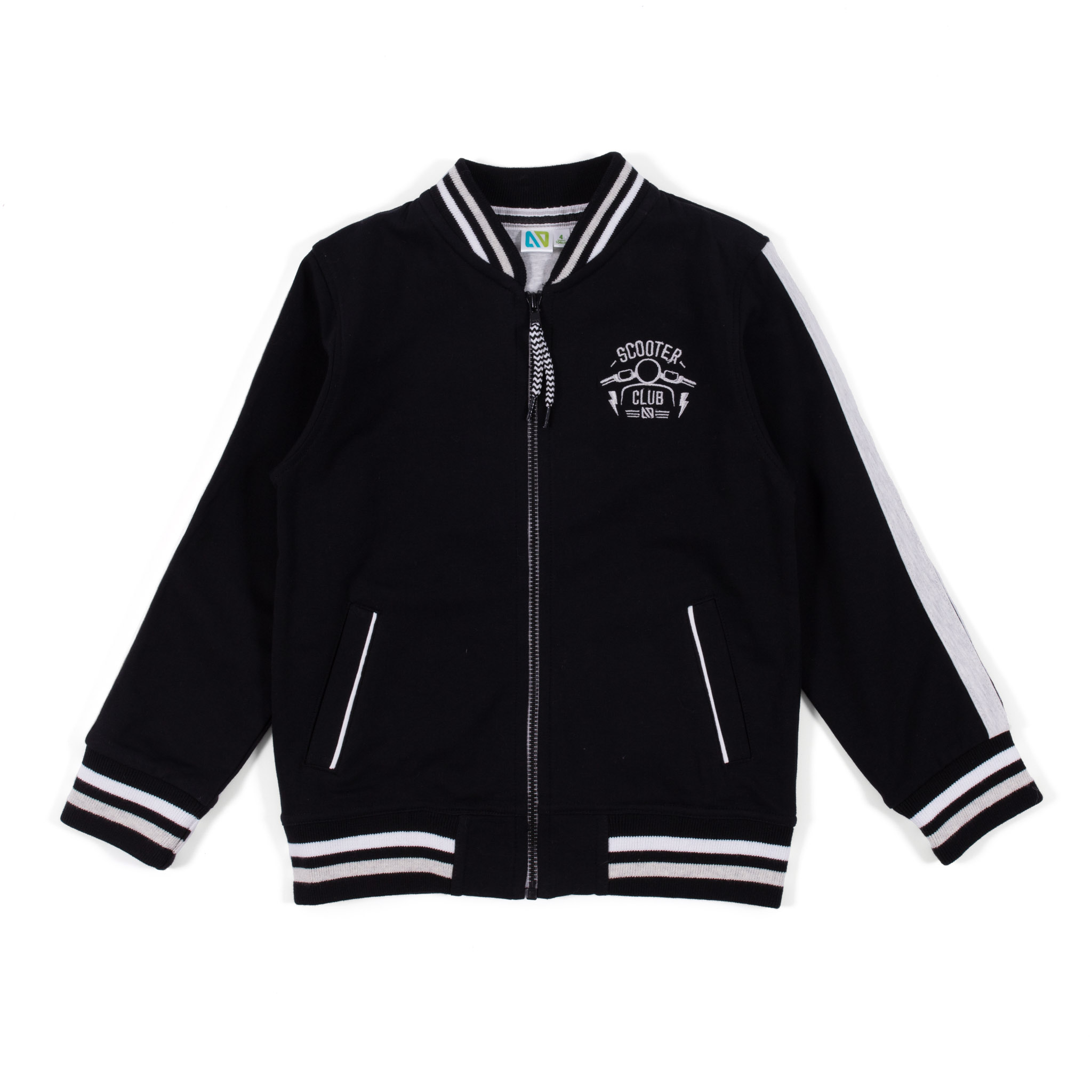 Bomber jacket - Black - Boys