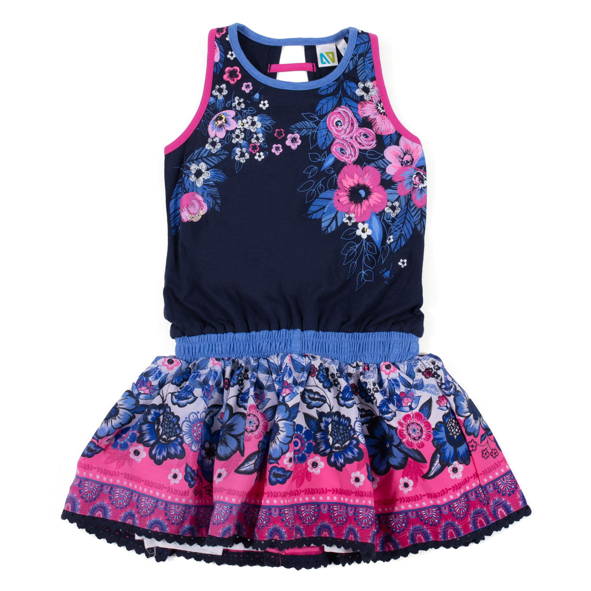 Dress - Navy - Girls