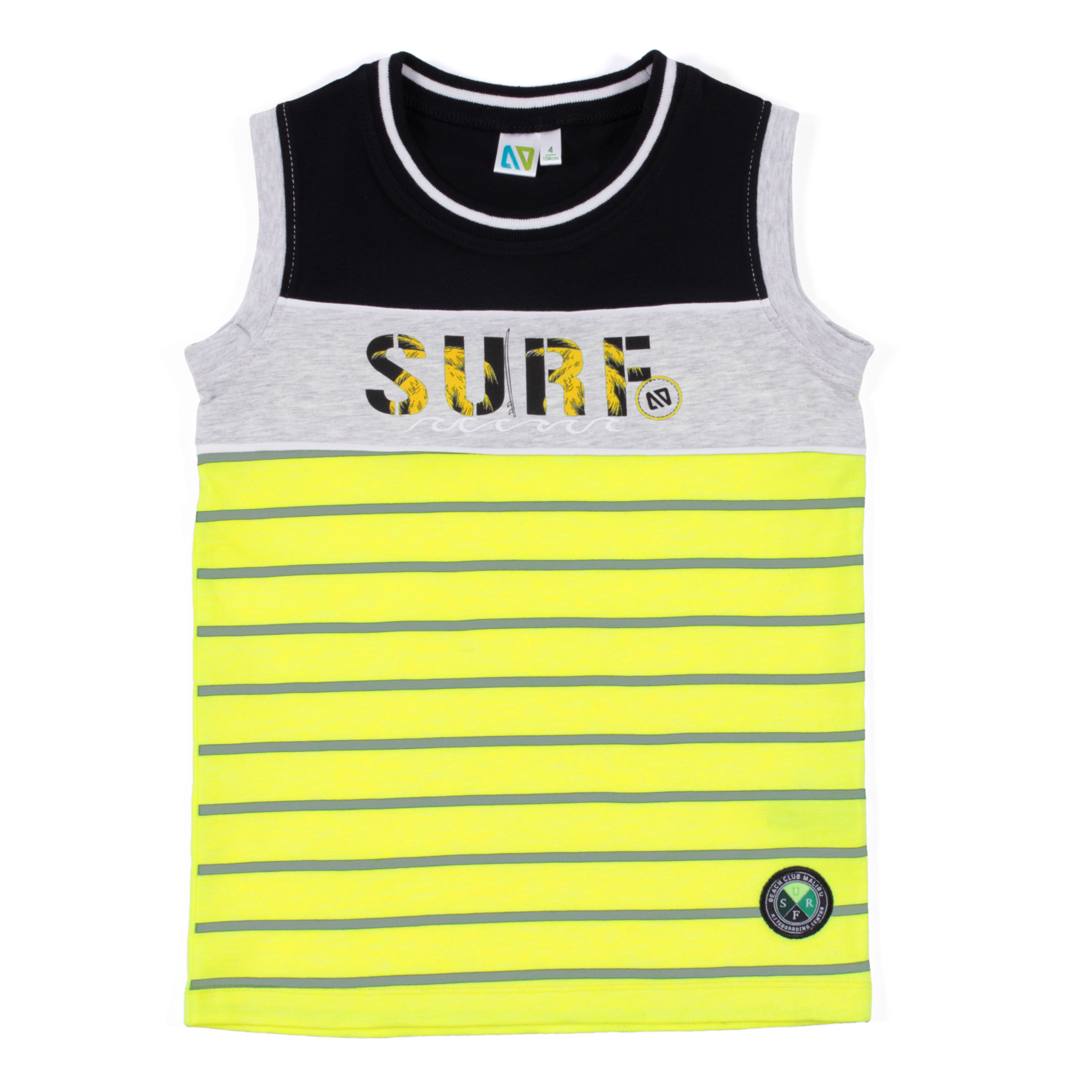 Tank top - Yellow - Boys