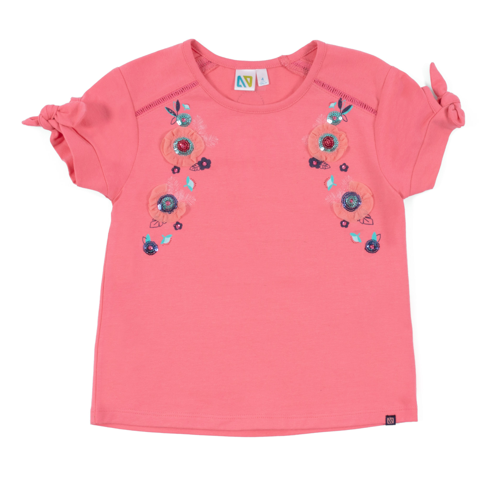 T-shirt - Coral - Girls