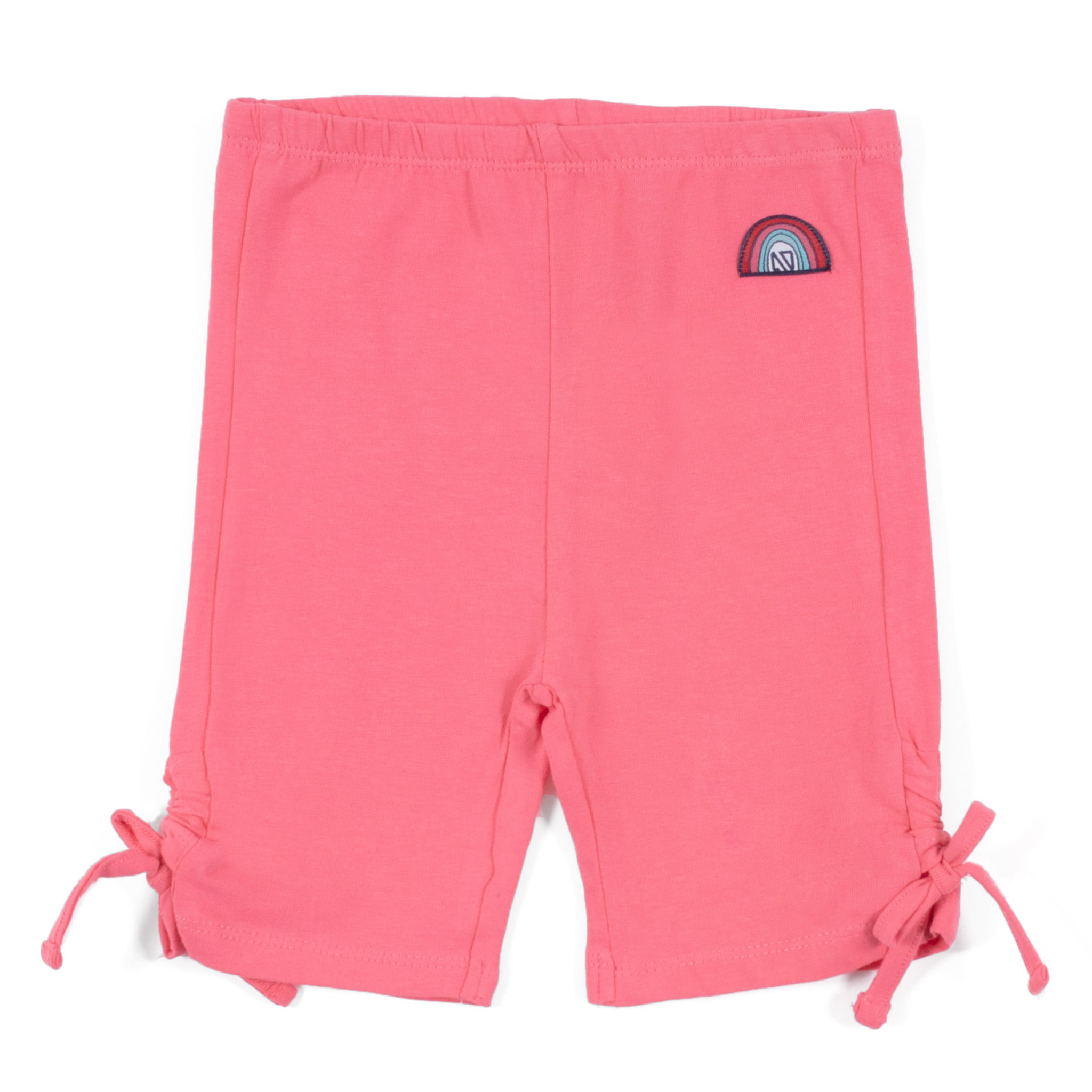Short leggings - Coral - Girls