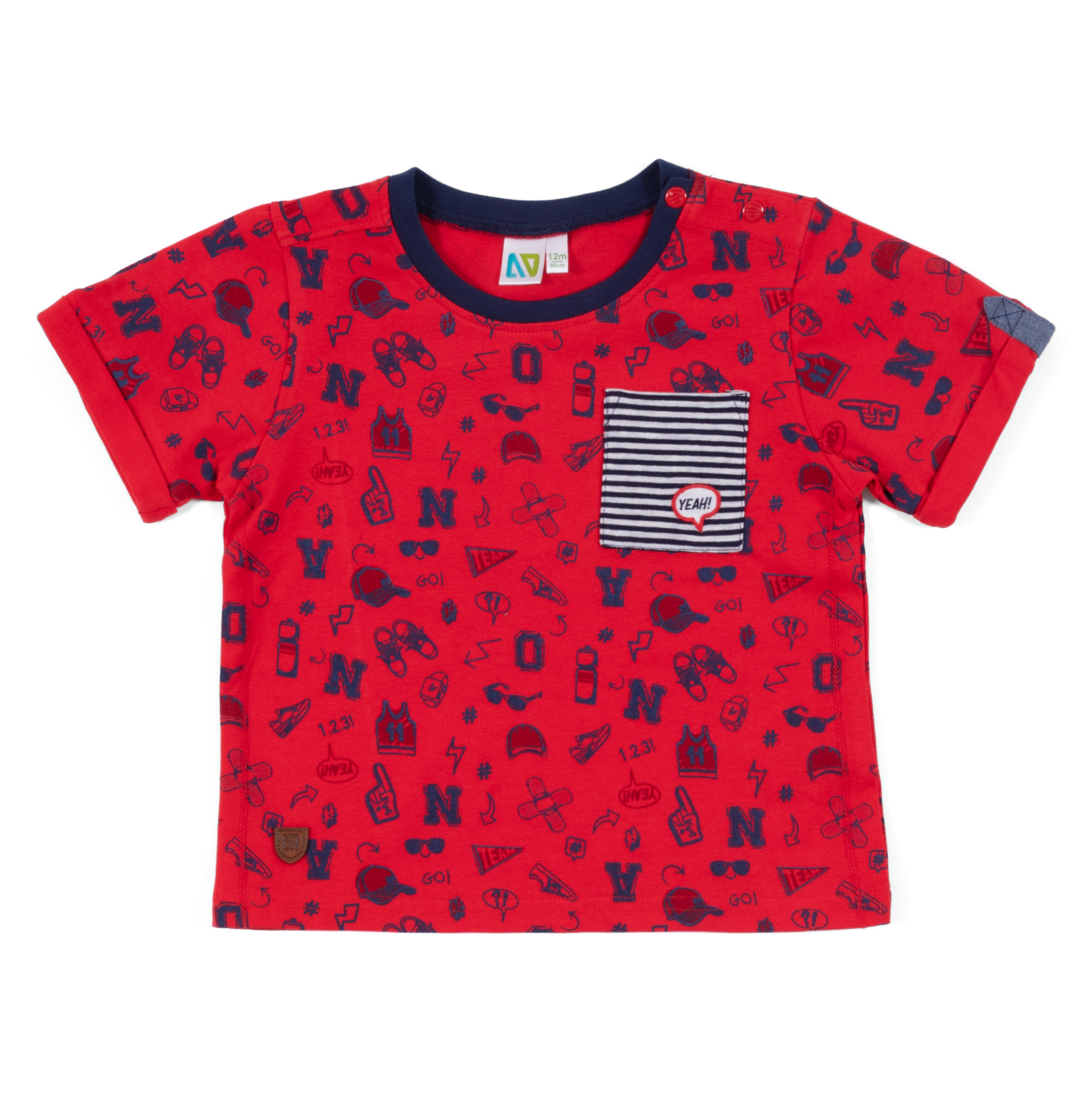T-Shirt - Red - Boys