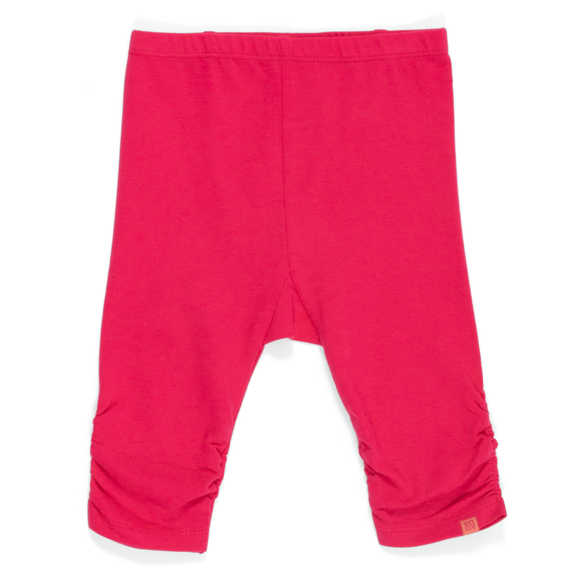 3/4 leggings - Coral - Girls