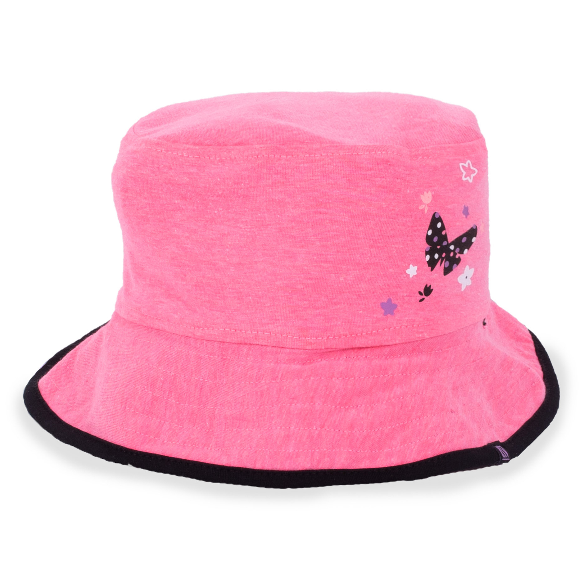 Reversible hat - Pink - Girls