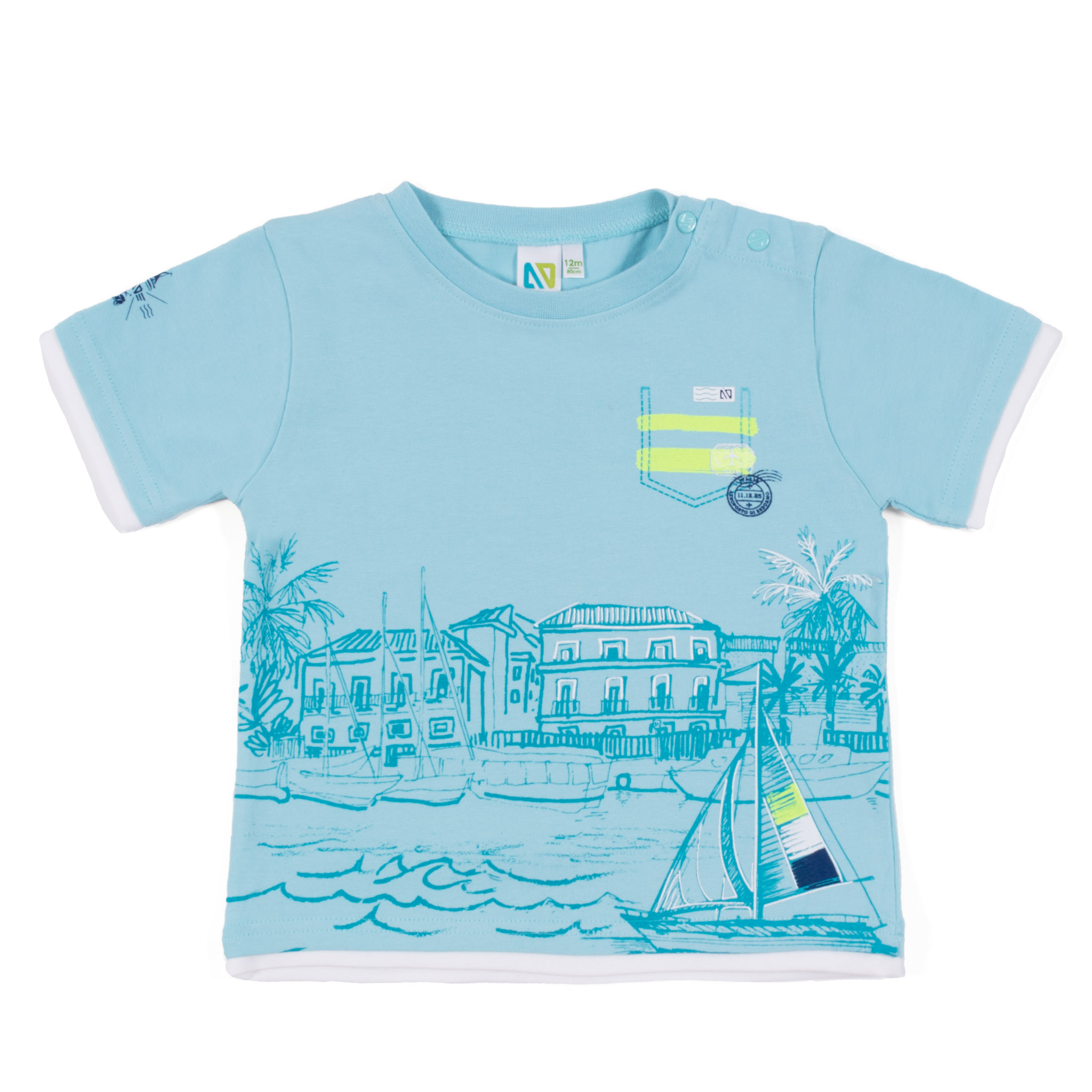 T-Shirt - Mint - Boys