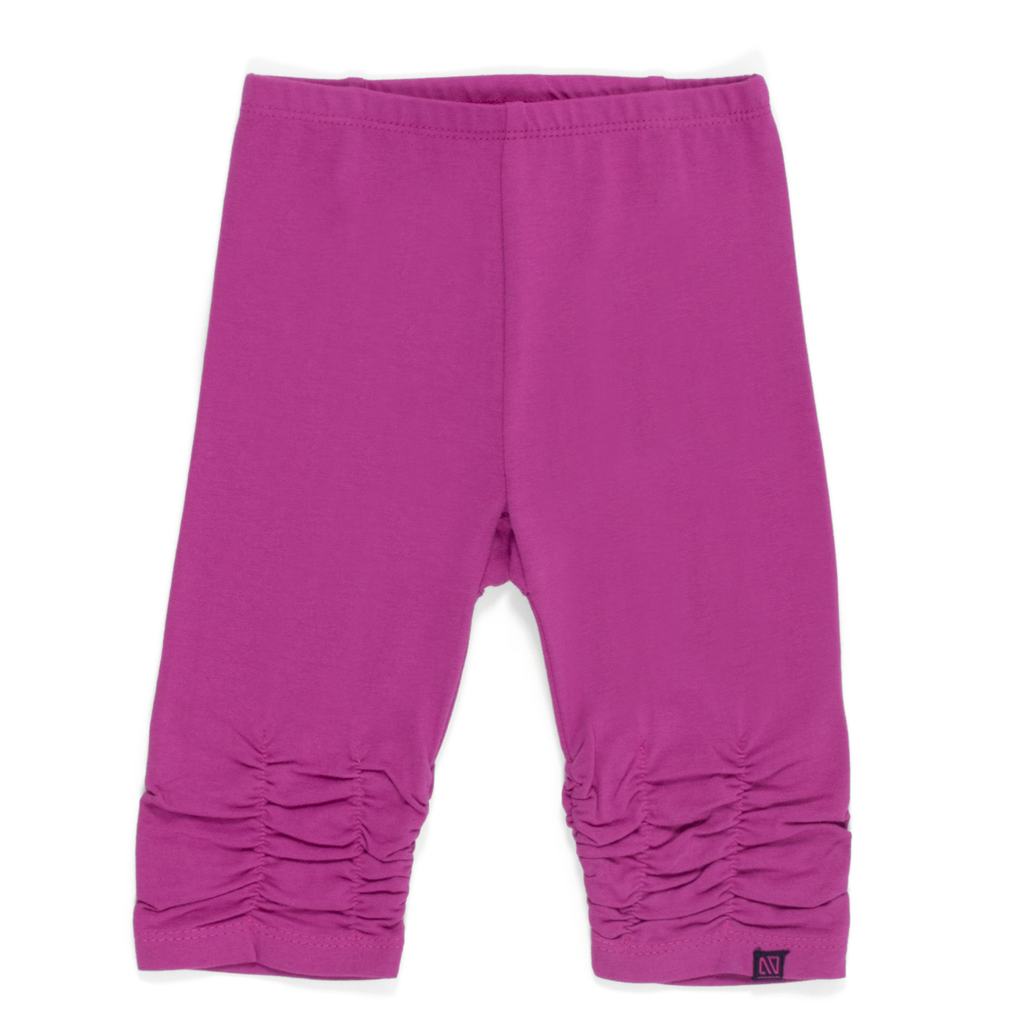 3/4 leggings - Fuchsia - Girls