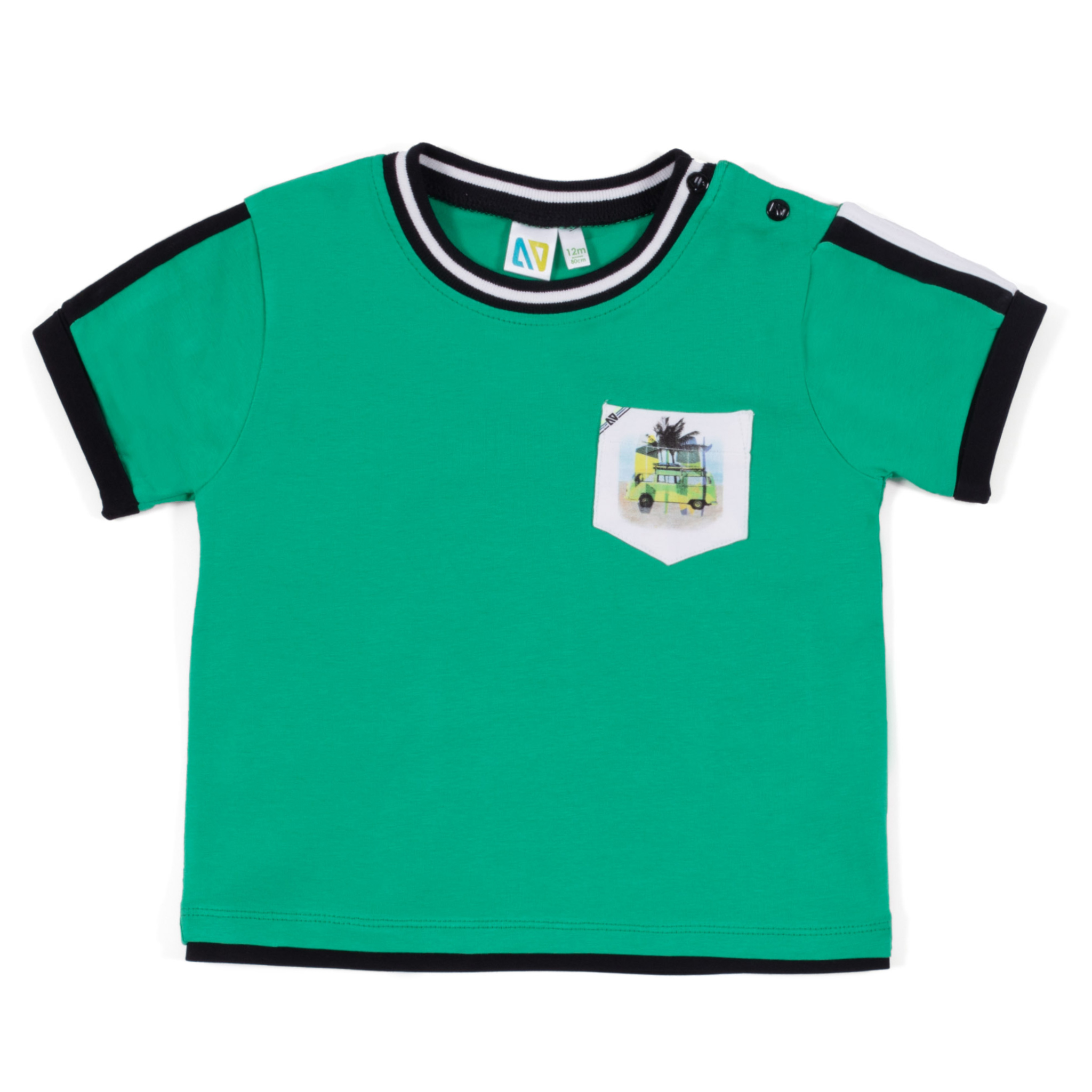 T-Shirt - Green - Boys