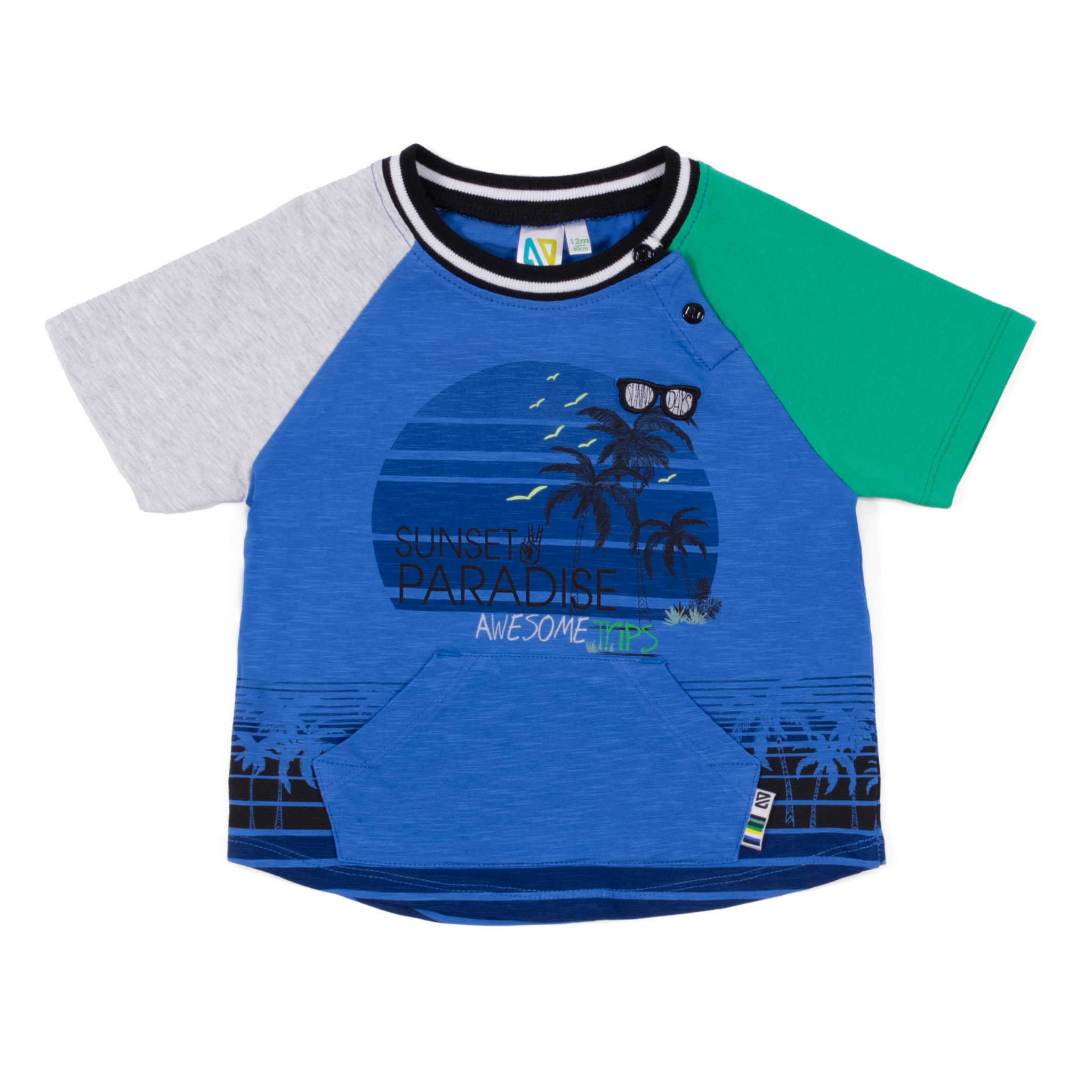 T-Shirt - Royal - Boys