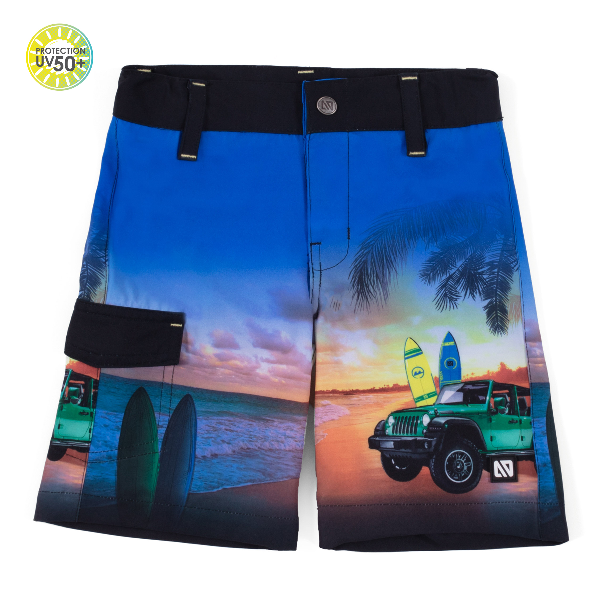 Boardshorts - Black - Boys